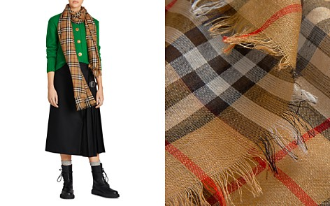 Burberry Vintage Check Lightweight Gauze Scarf - Bloomingdale's_2