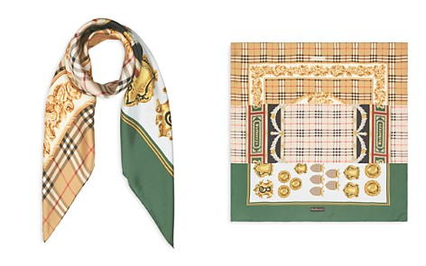 Burberry Archive Print Silk Scarf - Bloomingdale's_2