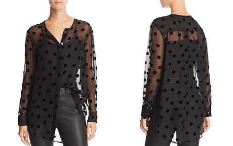 Equipment Simon Dotted Silk Shirt - Bloomingdale's_2