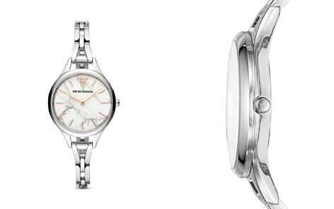 Emporio Armani Three-Hand Stainless Steel Watch, 32mm - Bloomingdale's_2
