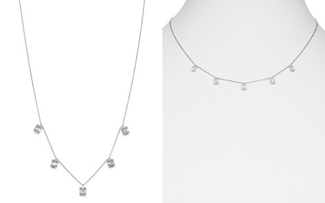 Bloomingdale's Diamond Charm Necklace in 14K White Gold, 0.60 ct. t.w. - 100% Exclusive _2