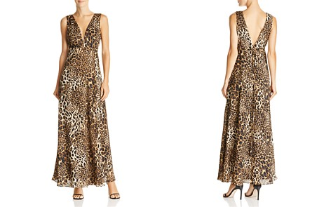 AQUA Leopard Print Maxi Wrap Dress - 100% Exclusive - Bloomingdale's_2