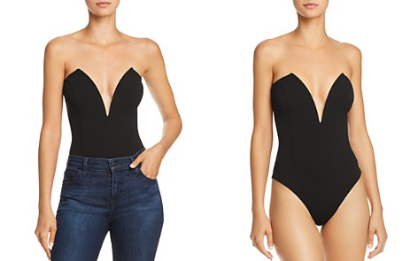 Sunset + Spring Notch Strapless Bodysuit - 100% Exclusive - Bloomingdale's_2