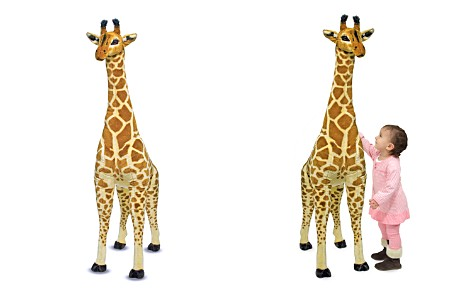 Melissa & Doug Giant Plush Giraffe - Ages 3+ - Bloomingdale's_2