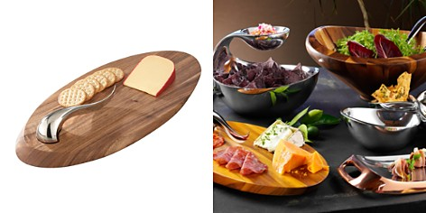 Nambé Swoop Cheese Board & Knife - Bloomingdale's Registry_2