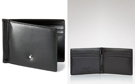 Montblanc Meisterstück 6cc Leather Wallet with Money Clip - Bloomingdale's_2