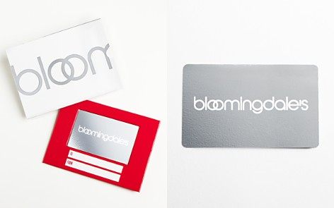 Only at Bloomingdale's Gift Card with White Box Sleeve_2