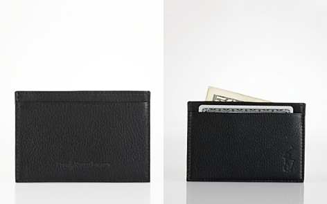 Polo Ralph Lauren Pebbled Leather Slim Card Case - Bloomingdale's_2