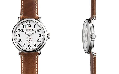Shinola The Runwell Brown Strap Watch, 47mm - Bloomingdale's_2