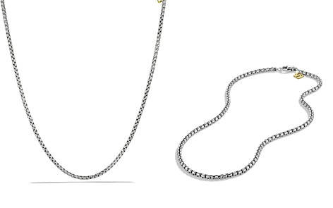 David Yurman Medium Box Chain with Gold - Bloomingdale's_2