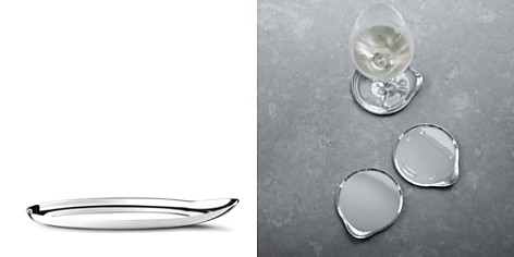 Georg Jensen Wine & Bar Liquid Coasters, Set of 4 - Bloomingdale's_2