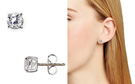 Carolee Medium Cubic Zirconia Stud Earrings - Bloomingdale's_2