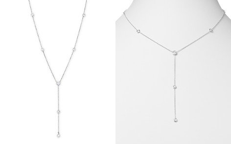 """Diamond Station Lariat Necklace in 14K White Gold, 16"""" - Bloomingdale's_2"""