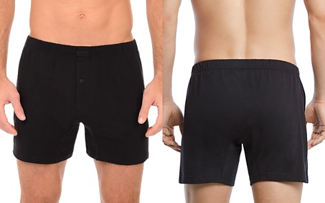 2(X)IST Pima Knit Boxers - Bloomingdale's_2