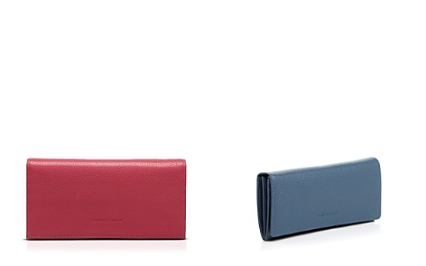 Longchamp Veau Foulonne Checkbook Wallet - Bloomingdale's_2