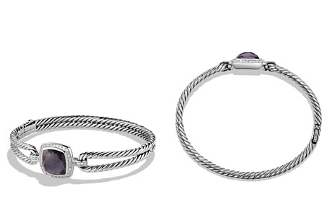 David Yurman Albion Bracelet with Black Orchid and Diamonds - Bloomingdale's_2