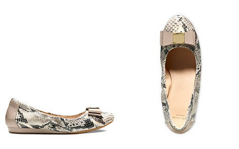 Cole Haan Tali Flex Snake Embossed Ballet Flats - Bloomingdale's_2