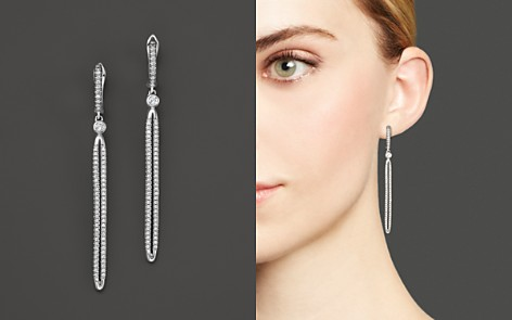 Diamond Drop Earrings in 14K White Gold, .75 ct. t.w. - 100% Exclusive - Bloomingdale's_2