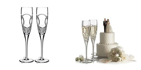 Waterford Wedding Vows Flute, Set of 2 - Bloomingdale's Registry_2