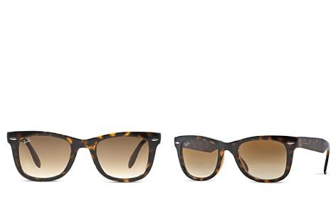 Ray-Ban Folding Wayfarer Sunglasses, 50mm - Bloomingdale's_2
