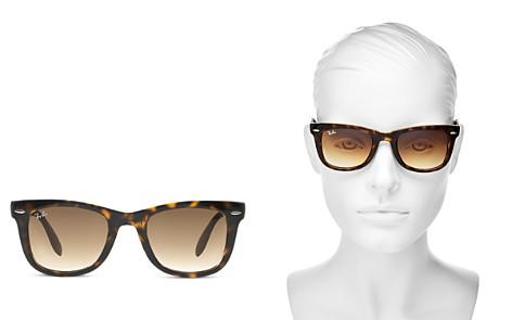 Ray-Ban Unisex Folding Wayfarer Sunglasses, 50mm - Bloomingdale's_2