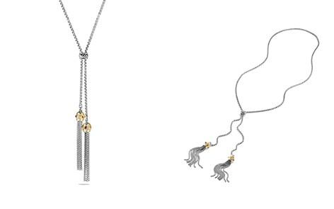 David Yurman Renaissance Tassel Necklace with 14K Yellow Gold - Bloomingdale's_2
