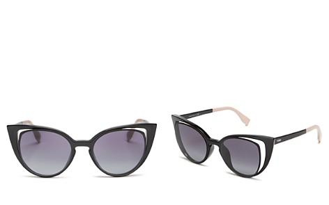 Fendi Women's Floating Cat Eye Sunglasses, 51mm - Bloomingdale's_2