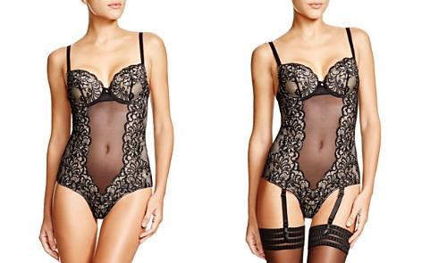 Le Mystère Sophia Lace Underwire Bodysuit - Bloomingdale's_2