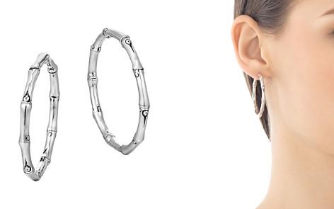 John Hardy Bamboo Medium Hoop Earrings - Bloomingdale's_2