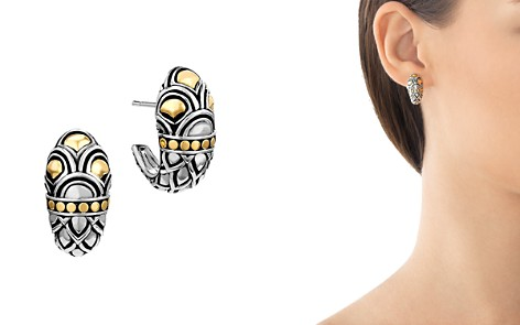 John Hardy Sterling Silver & 18K Gold Naga Shrimp Earrings - Bloomingdale's_2