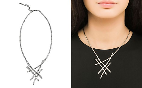 """John Hardy Sterling Silver Bamboo Collar Necklace, 18"""" - Bloomingdale's_2"""