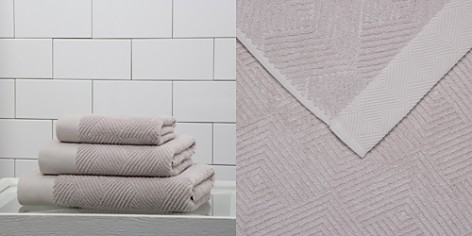 Frette Diamond Jacquard Towels - Bloomingdale's_2