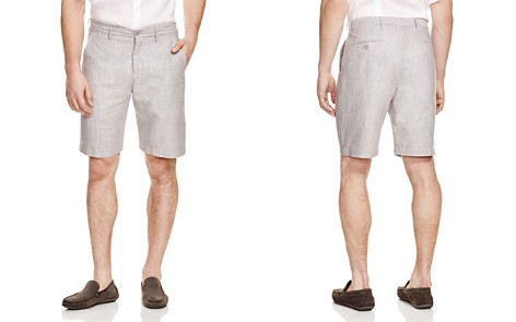 The Men's Store at Bloomingdale's Linen Cotton Shorts - 100% Exclusive_2