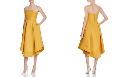 C/MEO Collective Strapless Making Waves Dress - 100% Exclusive - Bloomingdale's_2