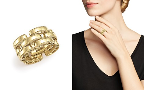 Roberto Coin 18K Yellow Gold Retro Ring - Bloomingdale's_2