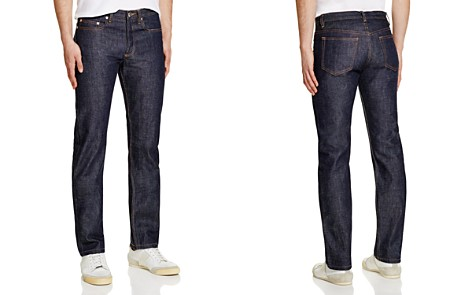 A.P.C. New Standard Straight Fit Jeans in Indigo - Bloomingdale's_2