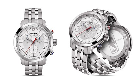 Tissot NBA PRC 200 Stainless Steel Chronograph, 41mm - Bloomingdale's_2
