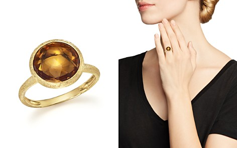 Marco Bicego 18K Yellow Gold Jaipur Ring with Citrine - Bloomingdale's_2