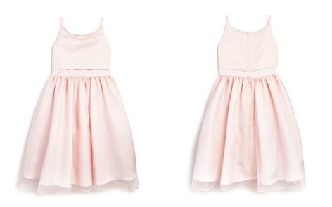 US Angels Girls' Chiffon Overlay Satin Flower Girl Dress - Big Kid - Bloomingdale's_2