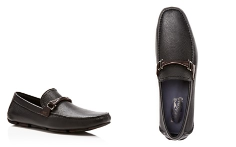 Salvatore Ferragamo Men's Granprix Textured Leather Drivers - Bloomingdale's_2