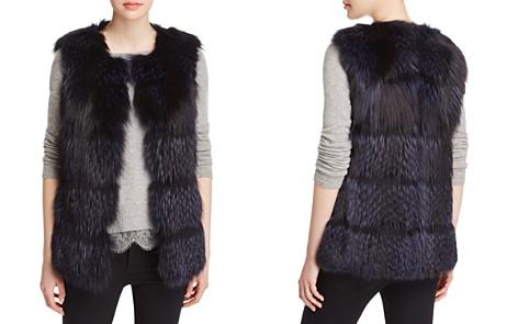Maximilian Furs Collarless Fox Fur Vest - Bloomingdale's_2