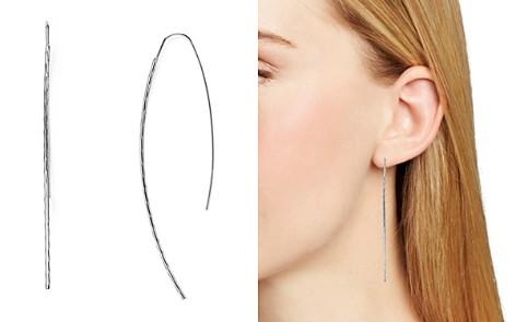 AQUA Desi Hammered Threader Earrings - 100% Exclusive - Bloomingdale's_2
