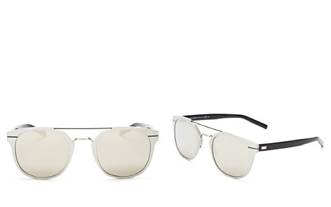 Dior Men's Mirrored Mixed Media Sunglasses, 51mm - Bloomingdale's_2