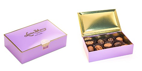 Louis Sherry Amethyst Chocolate Truffle Box, 12 piece - Bloomingdale's_2