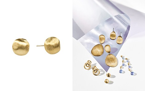 "Marco Bicego ""Africa Collection"" 18K Yellow Gold Round Stud Earrings - Bloomingdale's_2"