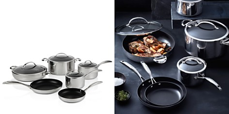 Scanpan CTP Mirror Polished Stainless Steel 10-Piece Cookware Set - 100% Exclusive - Bloomingdale's_2