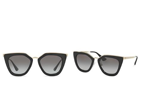 Prada Women's Conceptual Cat Eye Sunglasses, 52mm - Bloomingdale's_2