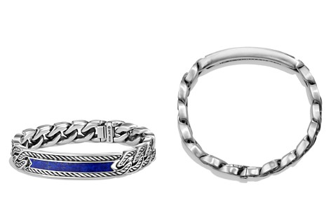 David Yurman Maritime Curb Link ID Bracelet with Lapis Lazuli - Bloomingdale's_2