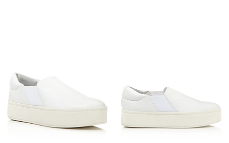 Vince Warren Leather Platform Slip-On Sneakers - Bloomingdale's_2