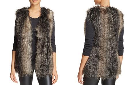 Via Spiga Faux Fur Vest - Bloomingdale's_2